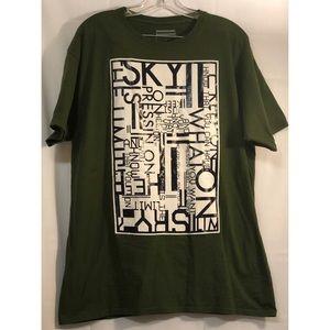 Sean John Black Graphic Tee Shirt Sz L